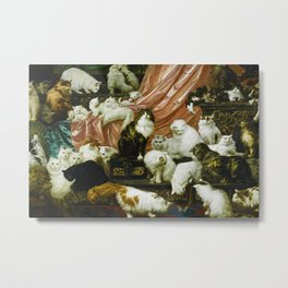 Classical Masterpiece 1893 - My Wife's Lovers by Carl Kahler Metal Print