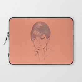 Funny Girl Laptop Sleeve