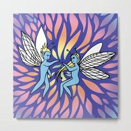 Fairy Lights Metal Print