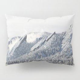 Frosty Flatirons Pillow Sham
