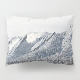 Frosty Flatirons Pillow Sham