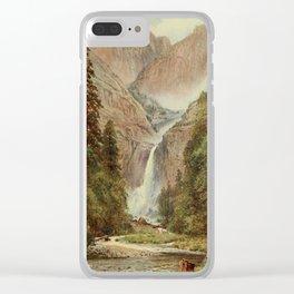 Palmer, Harold Sutton (1854-1933) - California 1914 - Yosemite Falls Clear iPhone Case