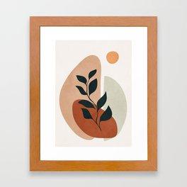 Soft Shapes II Framed Art Print