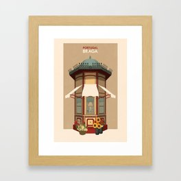 Portugal - Braga Framed Art Print