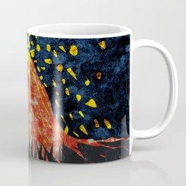 Erupting volcano Coffee Mug