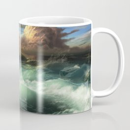 The Cemetery of the Chateau D'if Coffee Mug