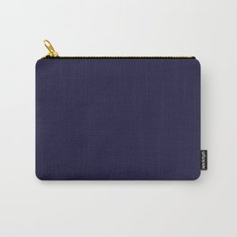 Blue Yacht Solid Summer Party Color Carry-All Pouch