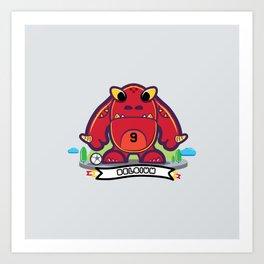 Monster Belgium 2014 Art Print