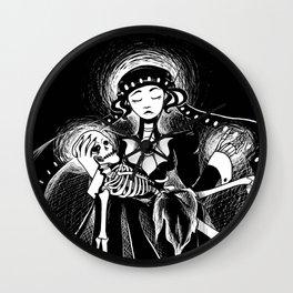 Jezebel Pieta Wall Clock