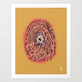 Aleph Identity Art Print