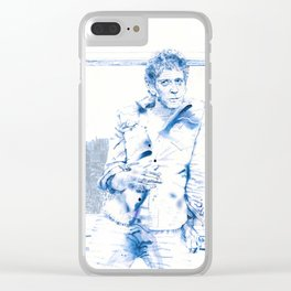 Lou Reed Clear iPhone Case