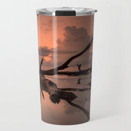 Boneyard Beach Sunrise Travel Mug