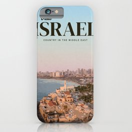Visit Israel  iPhone Case
