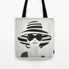 Snapshot (black & white) Tote Bag