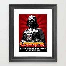 Darth Vader - Star Wars Framed Art Print