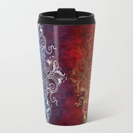Mandala - Fire & Ice Travel Mug