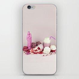 Sweet pink doom - still life iPhone Skin