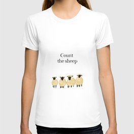 Count the sheep T-shirt