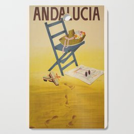 Vintage poster - Andalucia, Spain Cutting Board