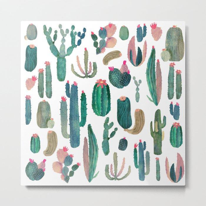 cactus, all of them Metal Print
