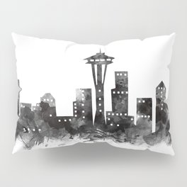 Seattle Skyline Pillow Sham