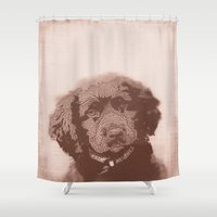 custom Shower Curtains featuring Custom Cory by Dillon Ryan