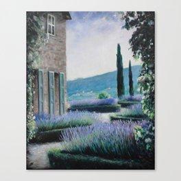 Lavender Garden Canvas Print