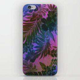 Happy Aloha Purple iPhone Skin