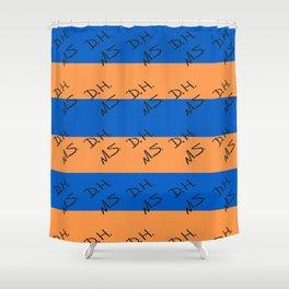 Senior Scribe DH MS Shower Curtain