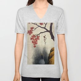 Autumn Maple, Shiitake Mushroom, Kettle - Digital Remastered Edition Unisex V-Neck
