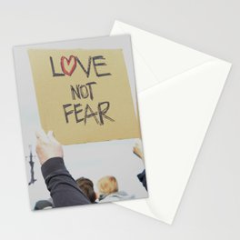 Love Not Fear Stationery Cards