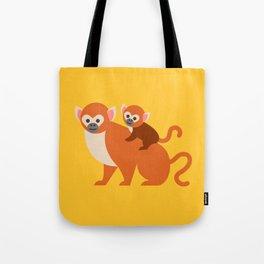 Monkey baby Tote Bag