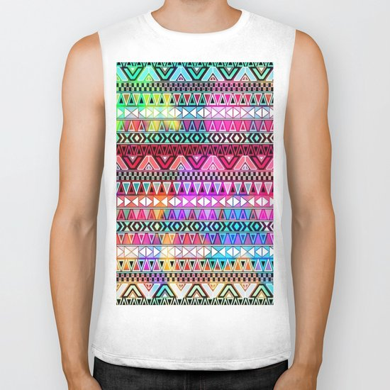 Colorful Tribal best decoration design ideas Biker Tank
