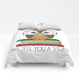 Owl Tell You A Story... Comforters