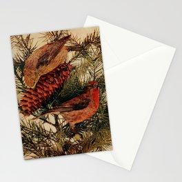 Neltje Blanchan - Bird Neighbours (1903) - Red Crossbills Stationery Cards