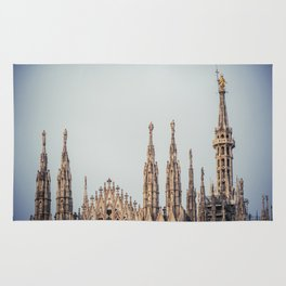 Duomo of Milan, Cathedral in the center of Milan Rug