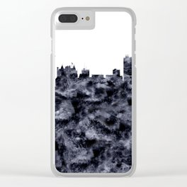 Winnipeg Skyline Alberta Clear iPhone Case