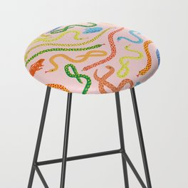 Snakes and Frogs Bar Stool