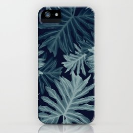 Philo Hope - Tropical Jungle Leaves Pattern #5 #tropical #decor #art #society6 iPhone Case