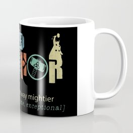 Fa-Thor Like Dad Just Way Mightier Hero Coffee Mug