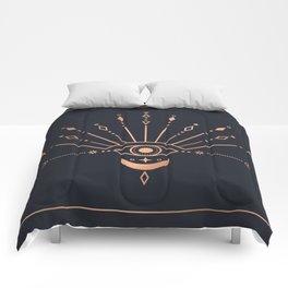 The Peacock Eye Comforters