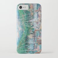 murray iPhone & iPod Cases featuring Murray Docks by Ann Marie Coolick