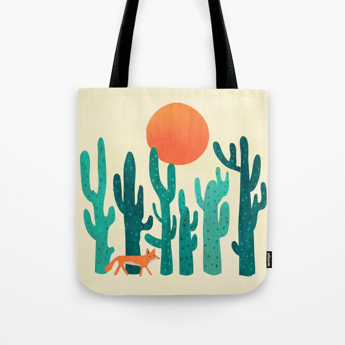 Desert fox Tote Bag