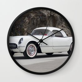 1955 Corvette Wall Clock