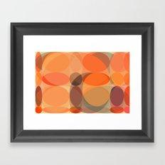Faded Lights Framed Art Print