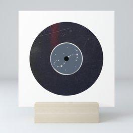 Vinyl Record Star Sign Art | Scorpio Mini Art Print