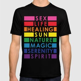 Rainbow Pride Colors T-shirt