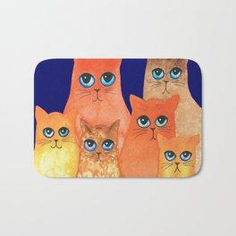 Annapolis Whimsical Cats Bath Mat