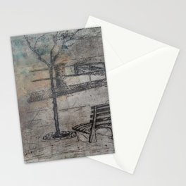 lonliness Stationery Cards