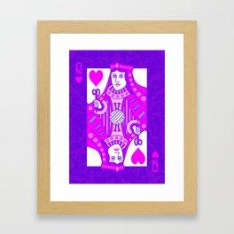 Queen of Crochet Framed Art Print